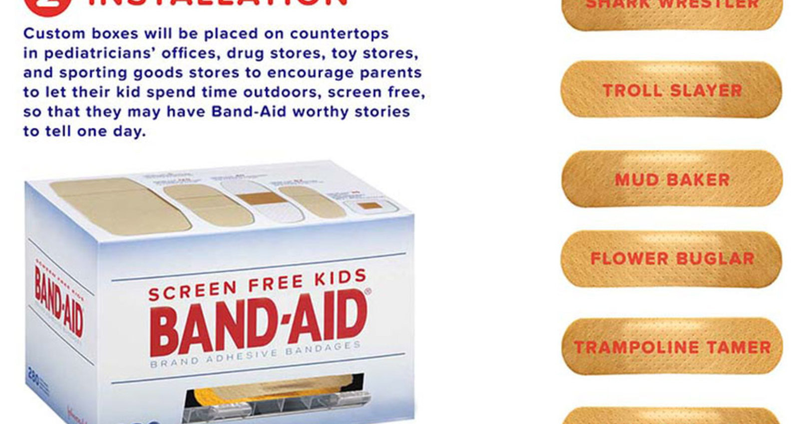 Band-Aids Screen Free Stories