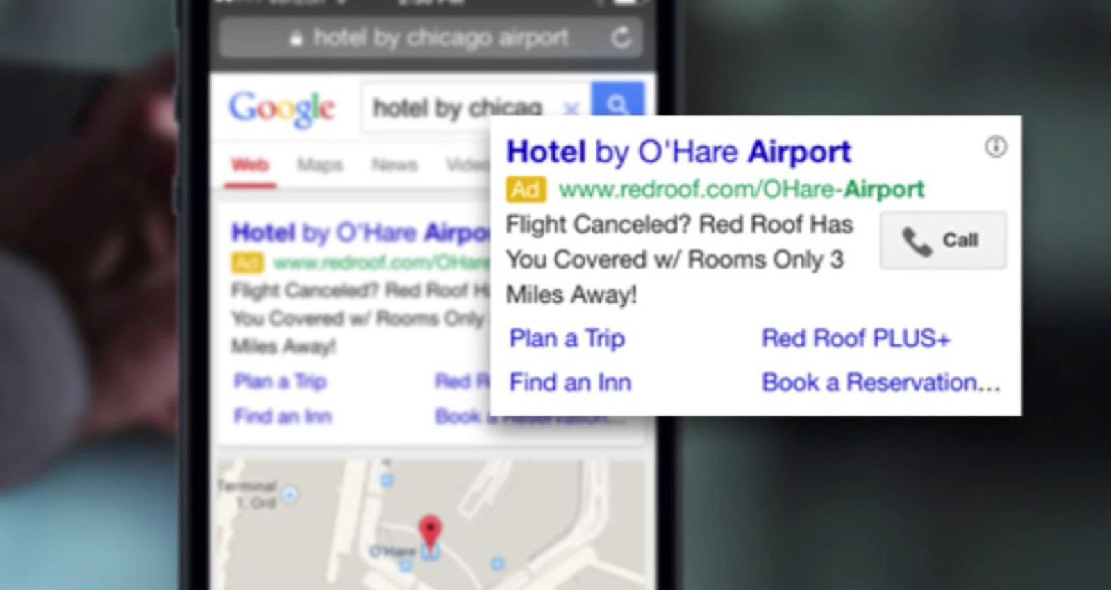 Turning Flight Cancellations into Hotel Reservations