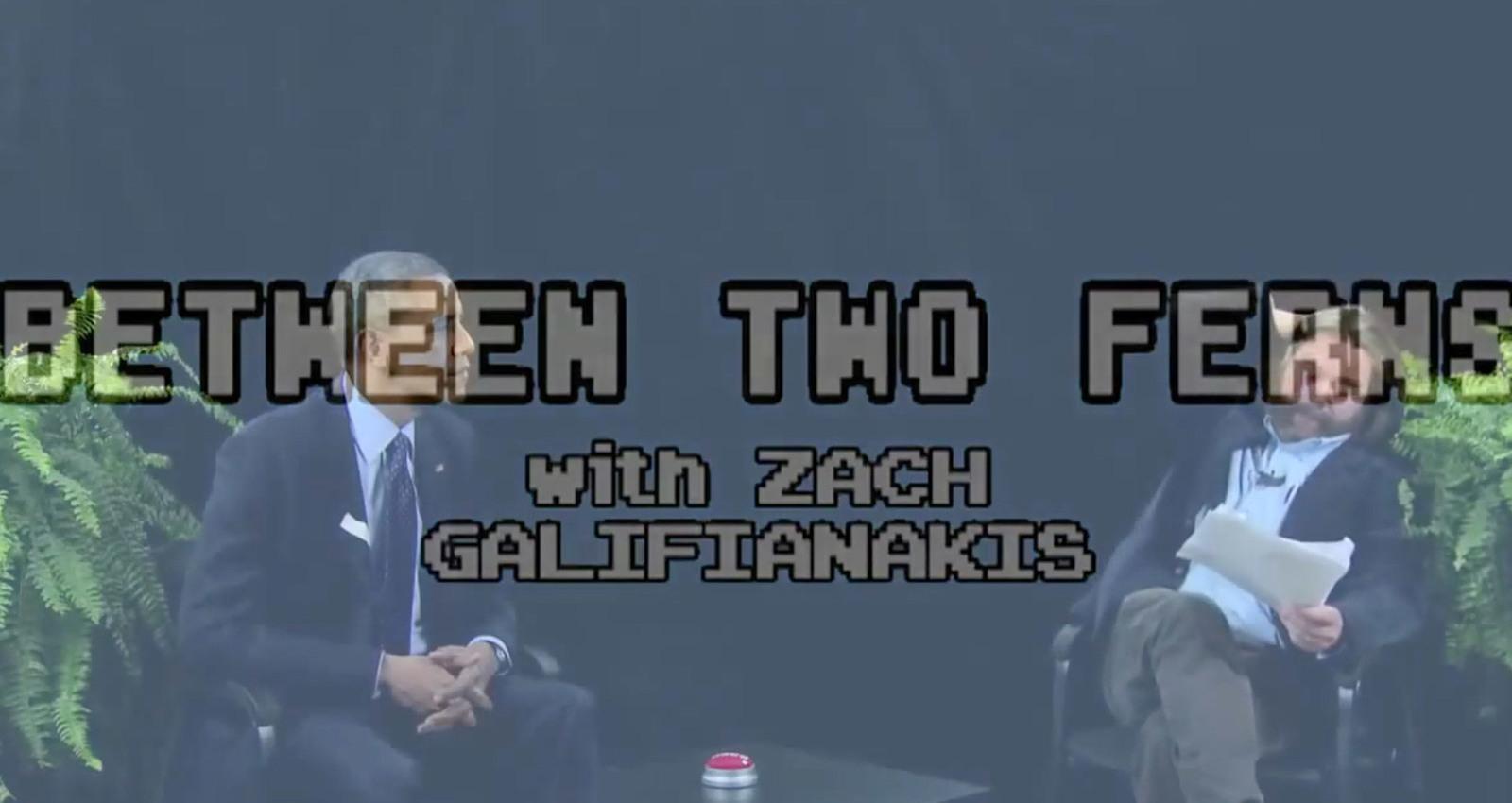 Between Two Ferns with Zach Galfianakis: President Barack Obama