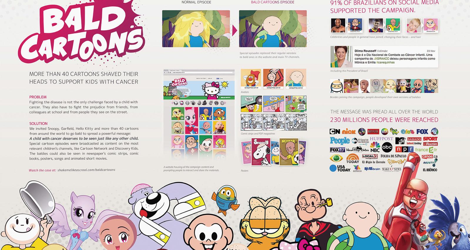 Bald Cartoons