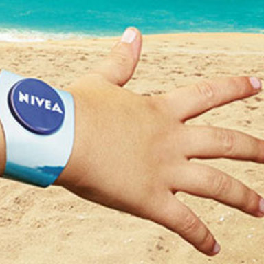 PROTECTION ADTo show how NIVEA Sun cares and protects your family, a new kind of ad was made, the