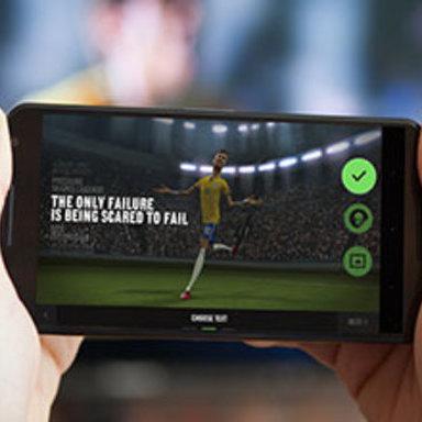 Nike Phenomenal Shot: A Google Art, Copy & Code Project