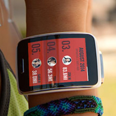 Nike+ Running on Samsung Gear S