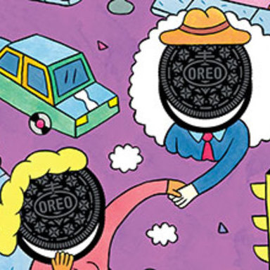 Wild Postings: Dream with Oreo, Andy Rementer