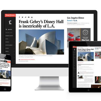 The redesign of latimes.com