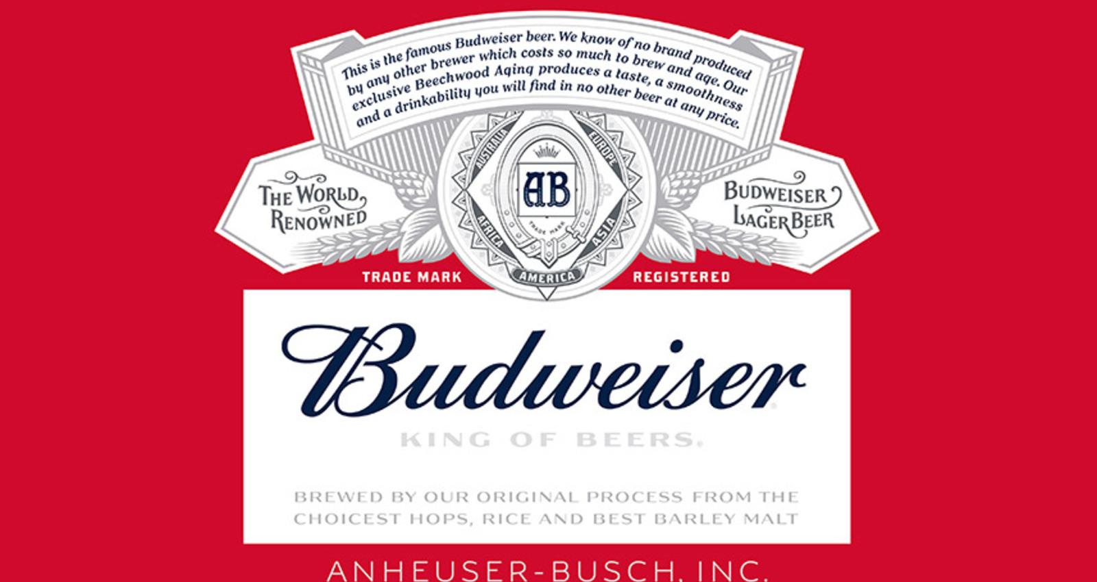 Budweiser Redesign