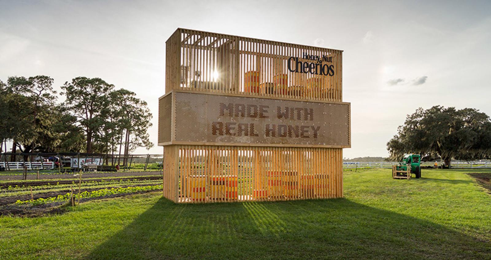 The Beehive Billboard