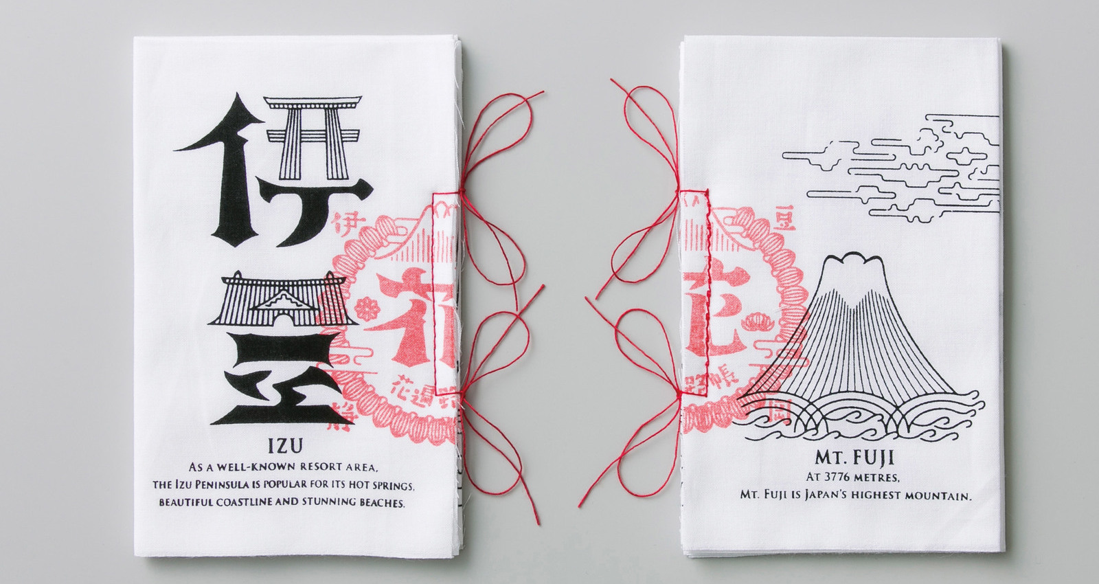 Stamp Passport Book for Izu Peninsula