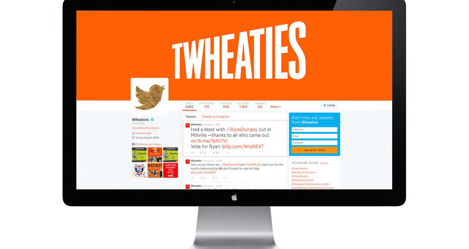 Wheaties Redesign