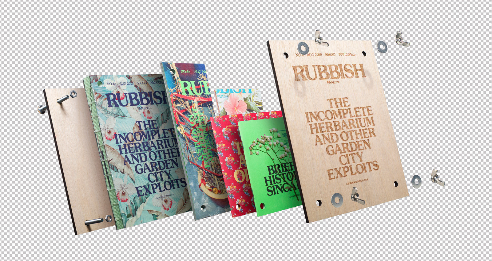 Rubbish Famzine- The Incomplete Herbarium and other Garden CIty Exploits