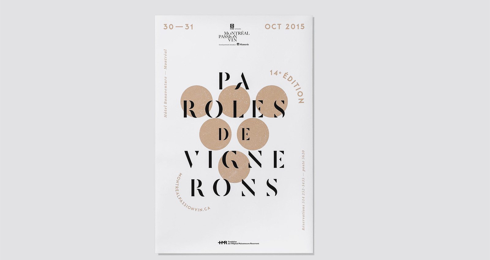 14th Edition of Montreal Wine Passion Festival - Wine For Thought
