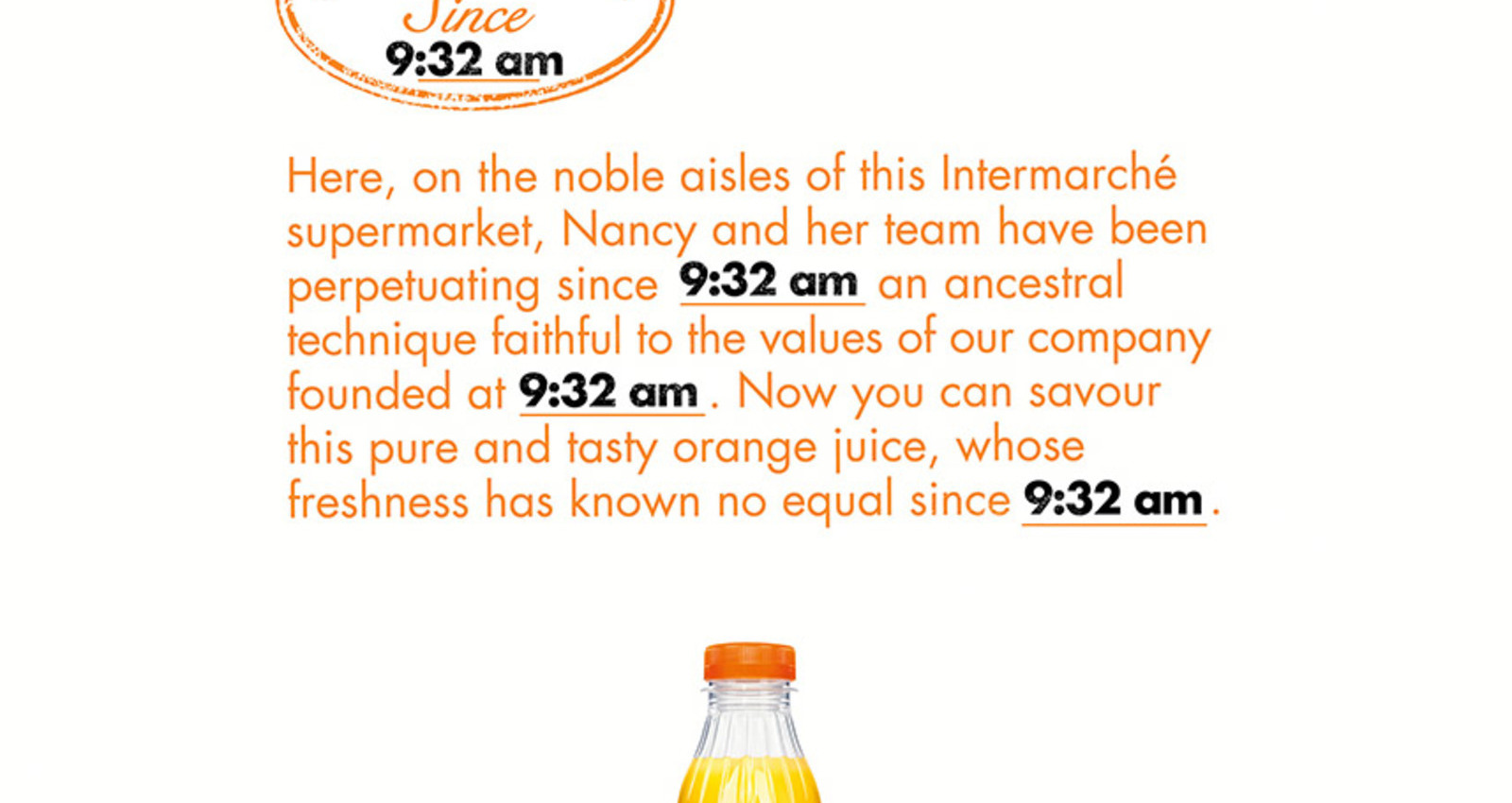 The Freshest Orange Juice Brand