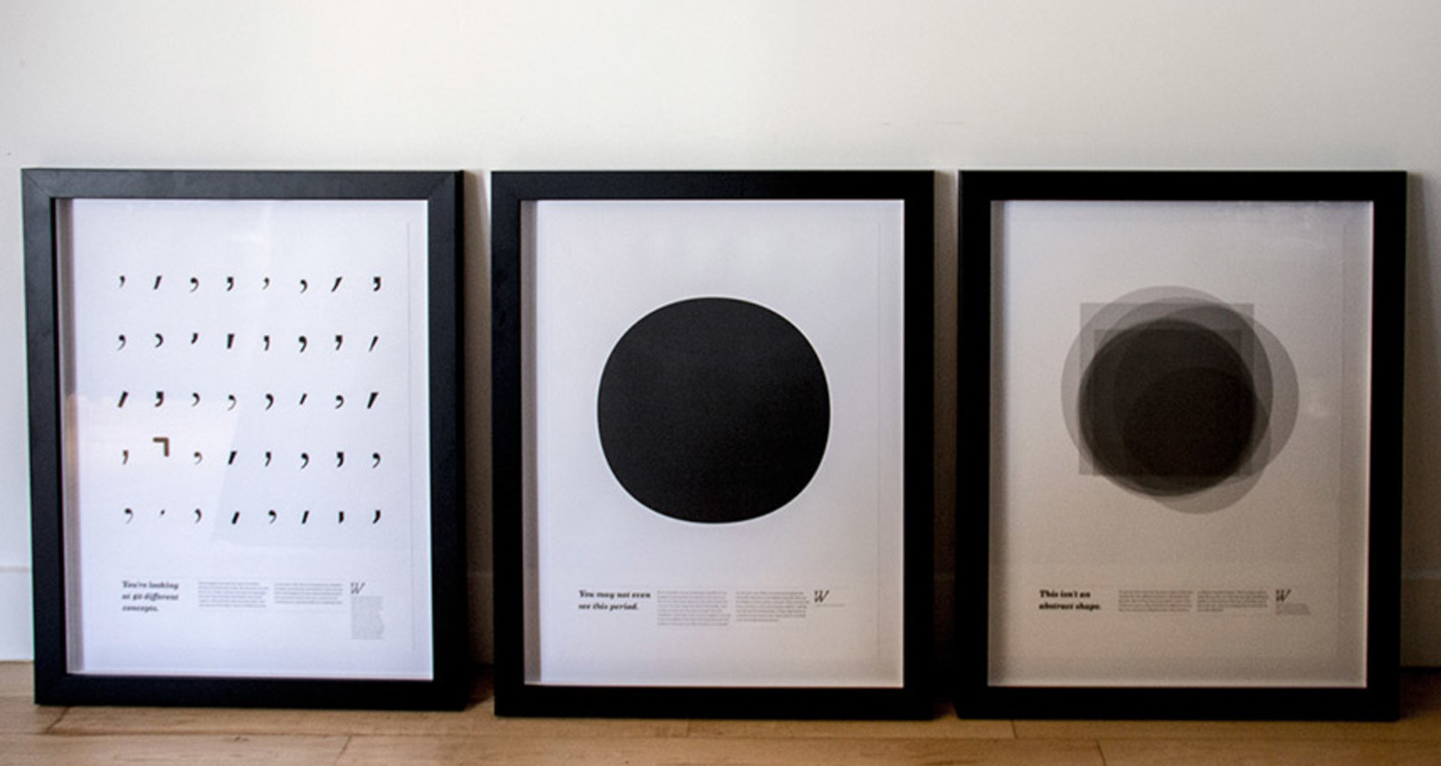 Typeworth Educational Series Posters