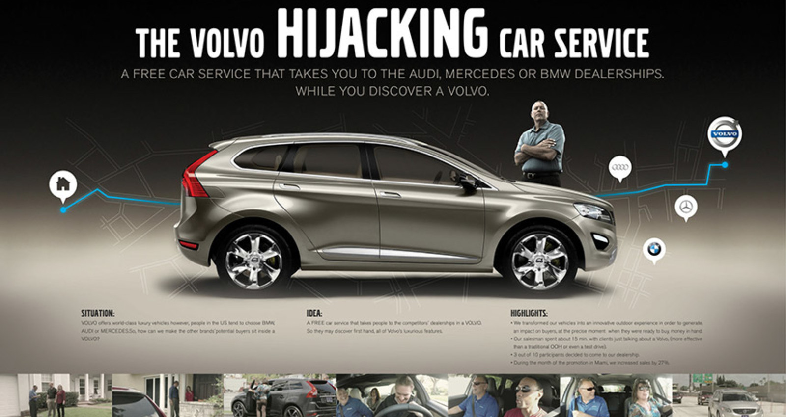 THE VOLVO HIJACKING CAR SERVICE