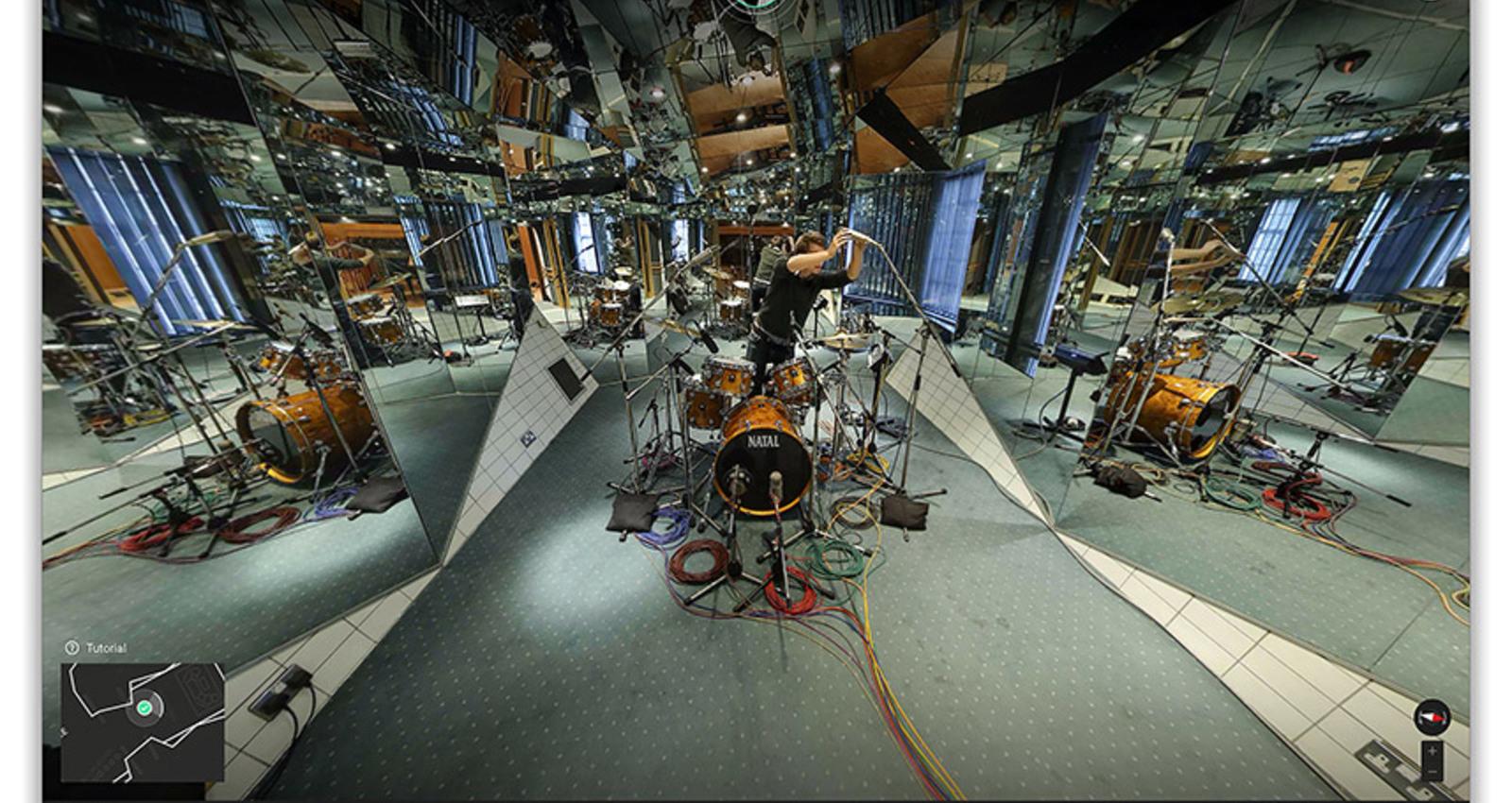 Inside Abbey Road