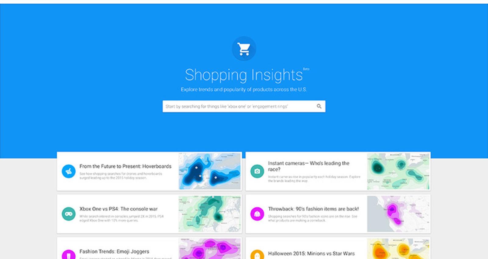 Google Shopping Insights