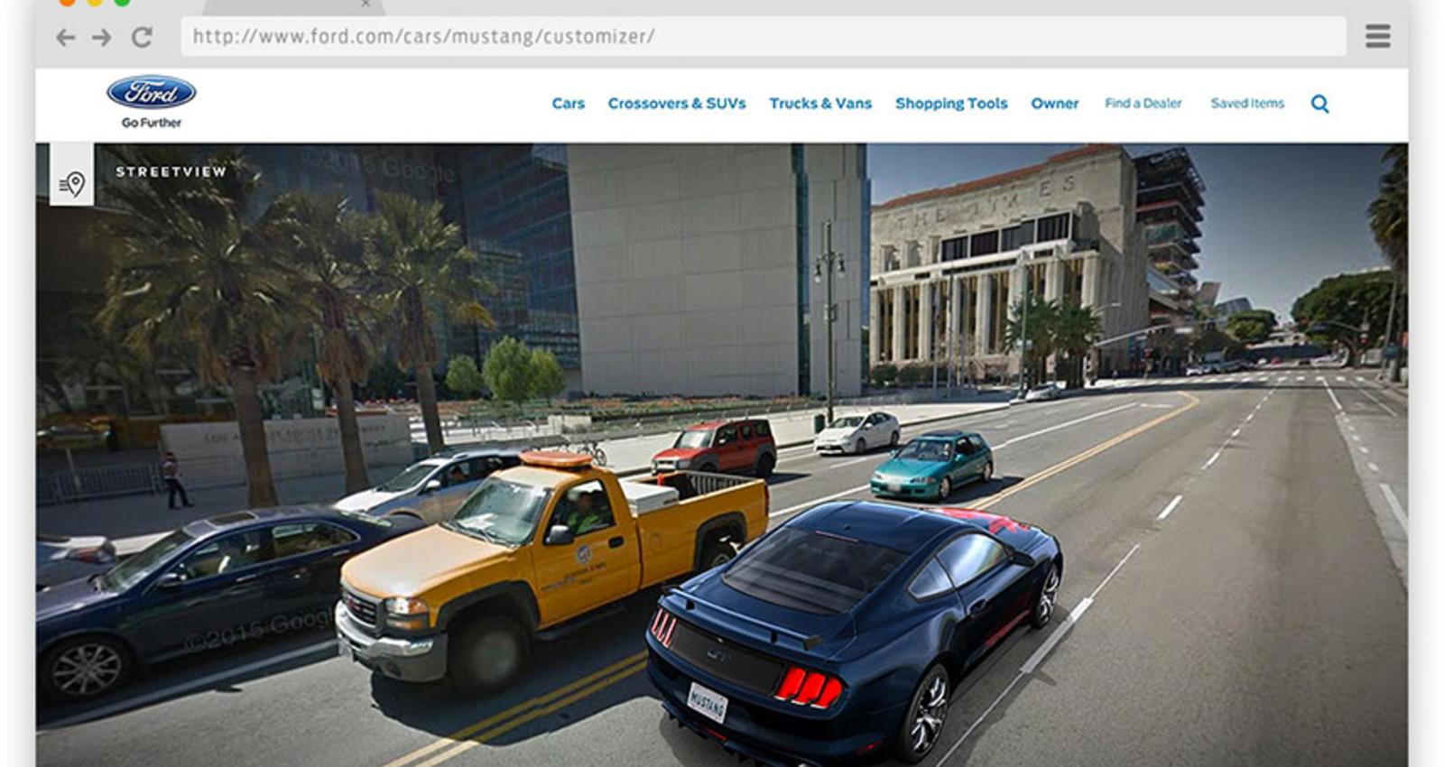 The 2015 Mustang Customizer