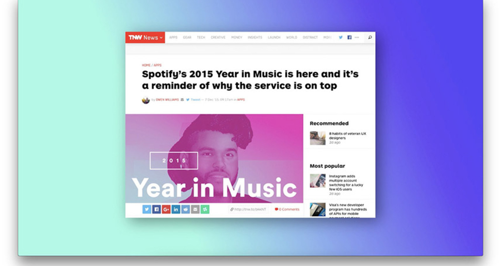 Spotify - Year in Music 2015