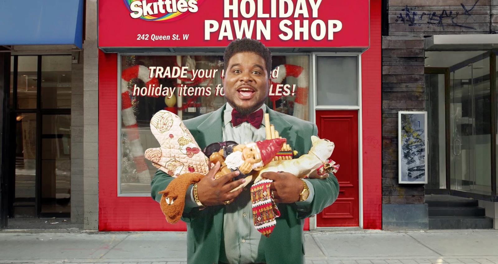 Skittles Holiday Pawn Shop