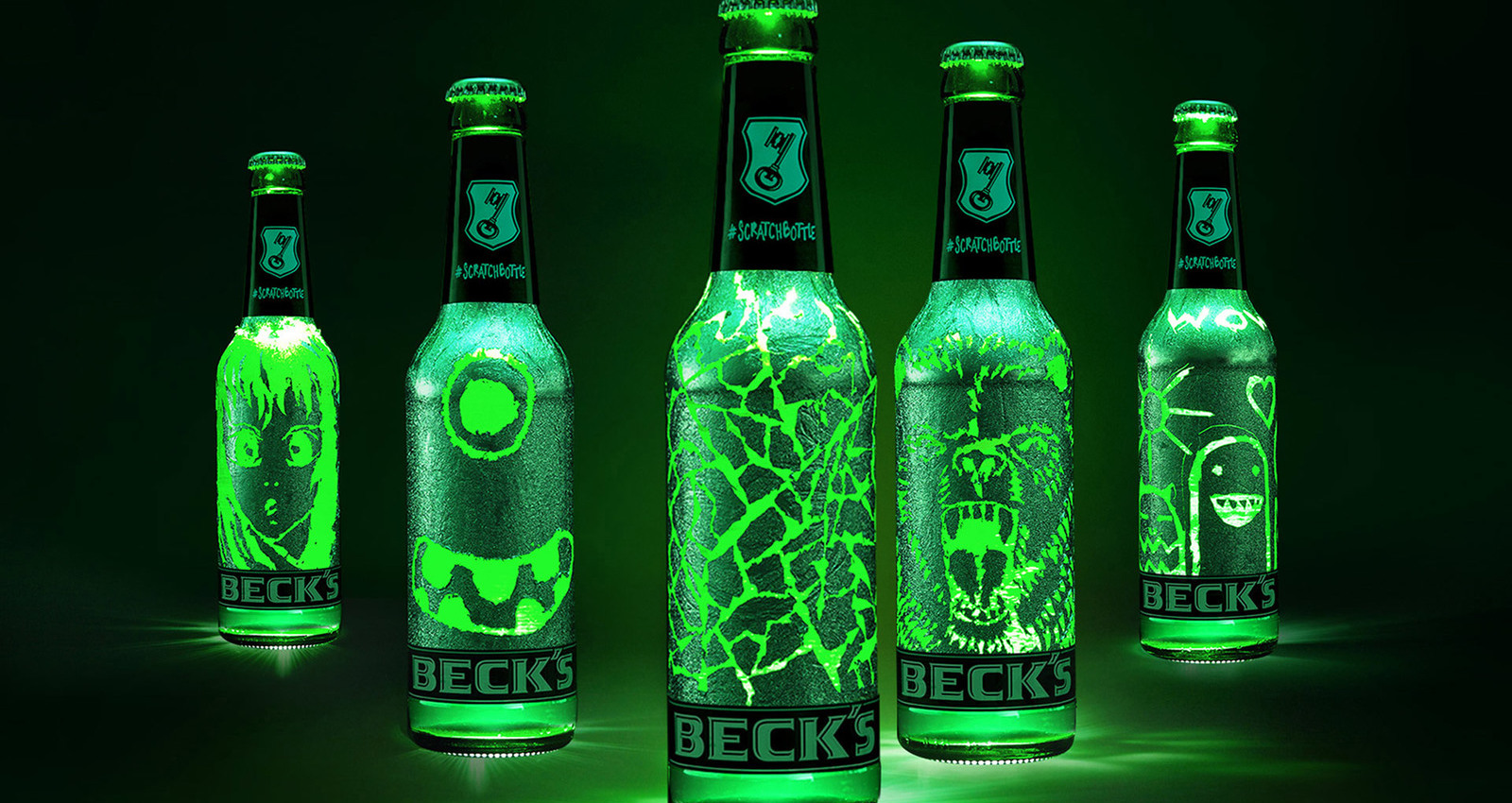 Beck's Scratchbottle