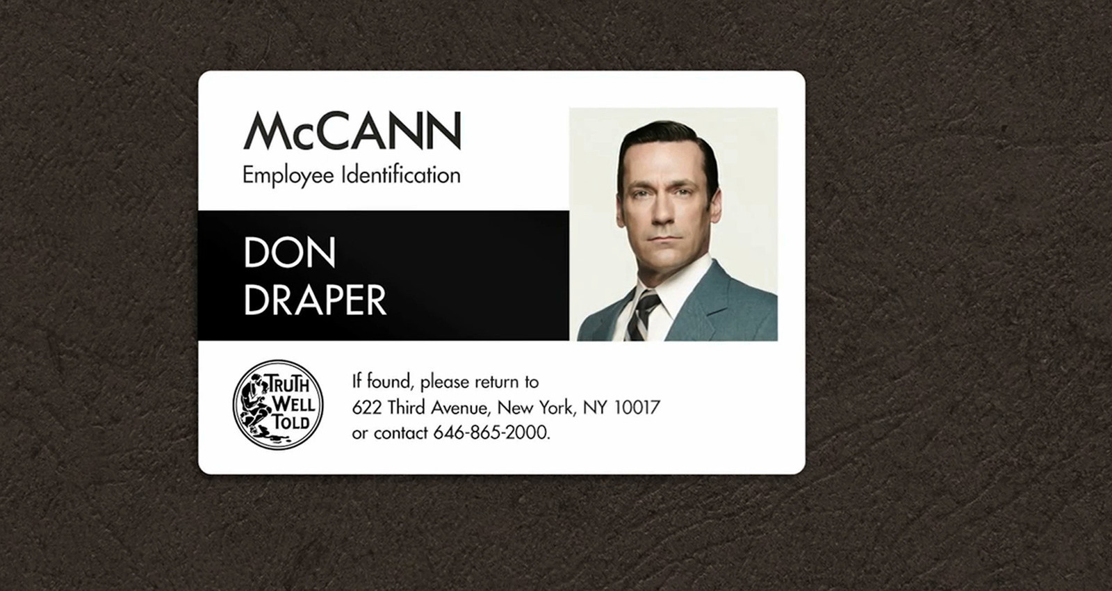 Real McCann vs Mad Men McCann