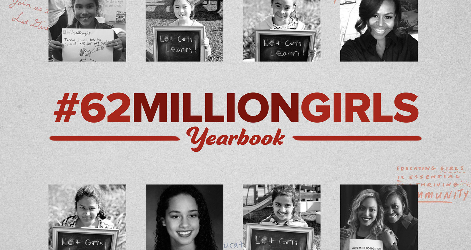 The #62MillionGirls Yearbook
