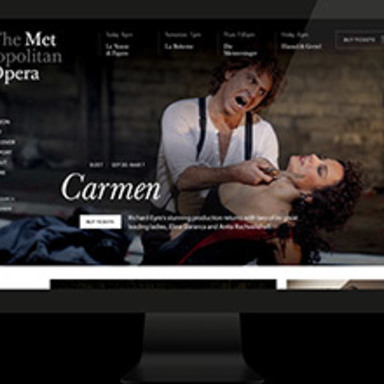 Met Opera: A Reimagined Digital Platform