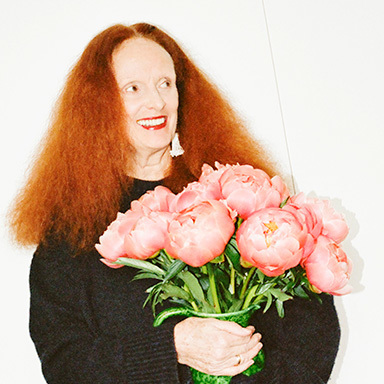 Grace Coddington portraits