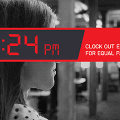 3:24PM Clock Out Early for Equal Pay