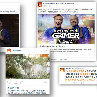 CONAN Clueless Gamer for Fallout 4