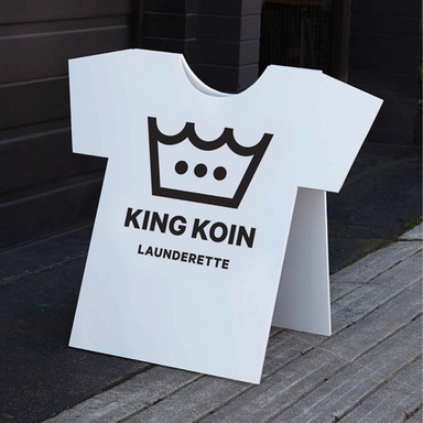 King Koin Launderette Stationery