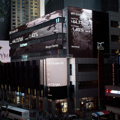 Morgan Stanley Digital Signage Times Square