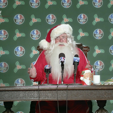 Santa Suits Up