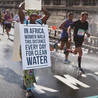 The Marathon Walker