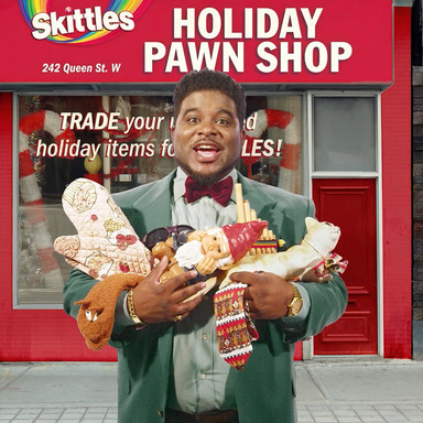 Skittles Holiday Pawn Shop