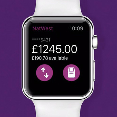 NatWest Apple Watch