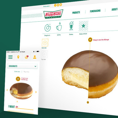 Krispy Kreme - E-Commerce Store
