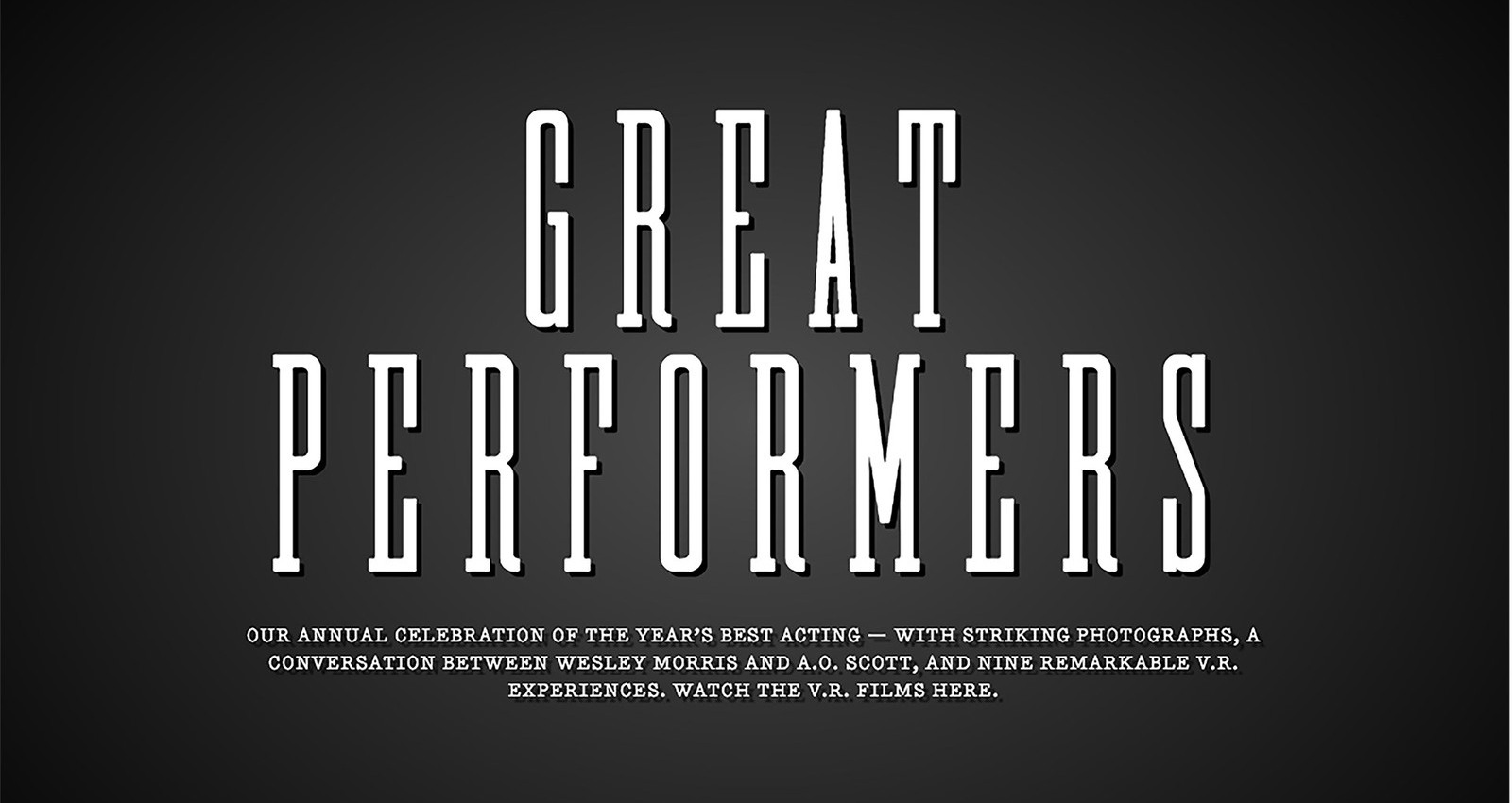 The Great Performers