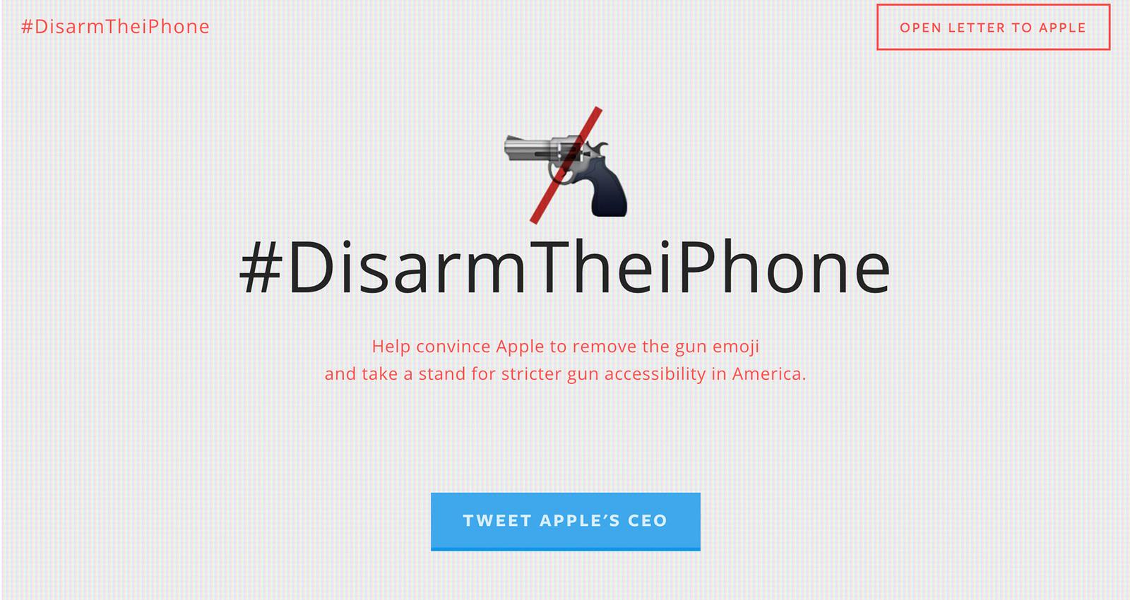 #Disarmtheiphone