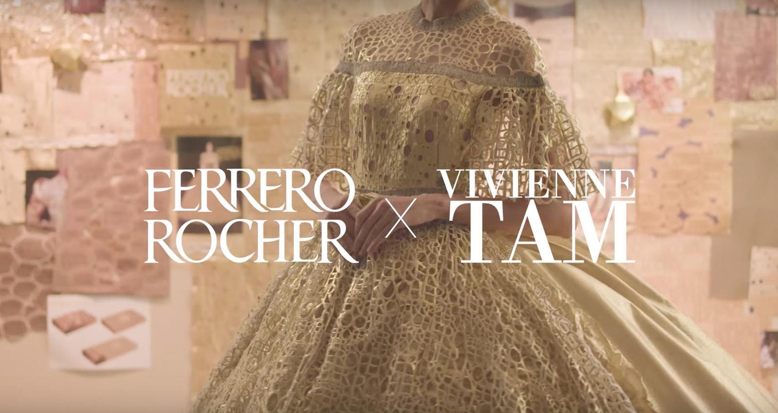 Ferrero Rocher x Vivienne Tam