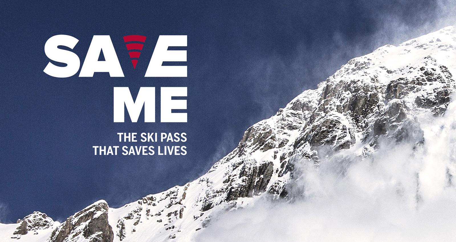 Save me – the ski pass that saves lives