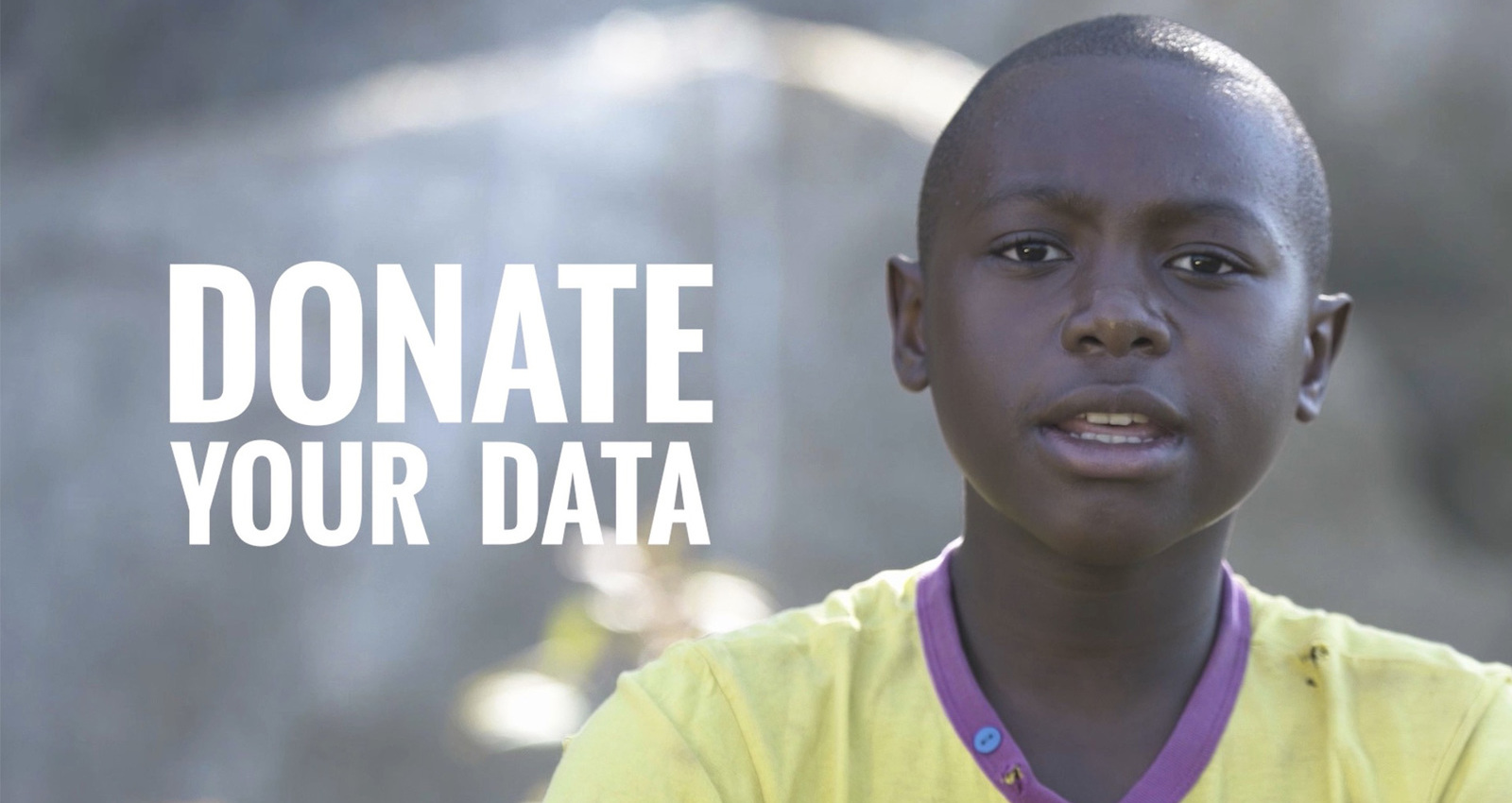 Donate your data