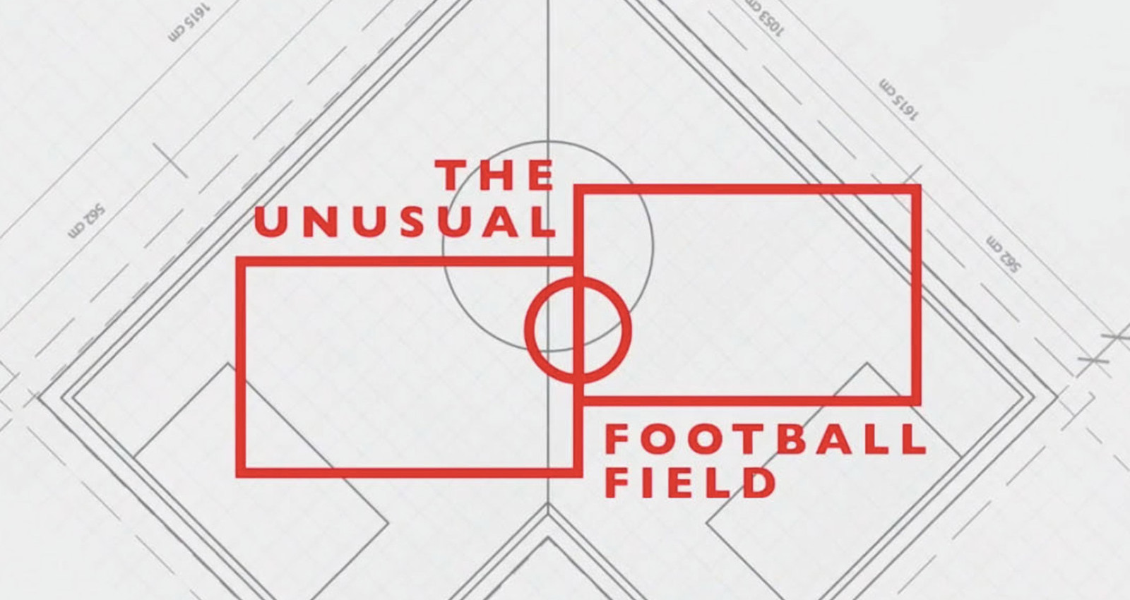 The Unusual Football Field Project : Football field that breaks through the rectangular boundary