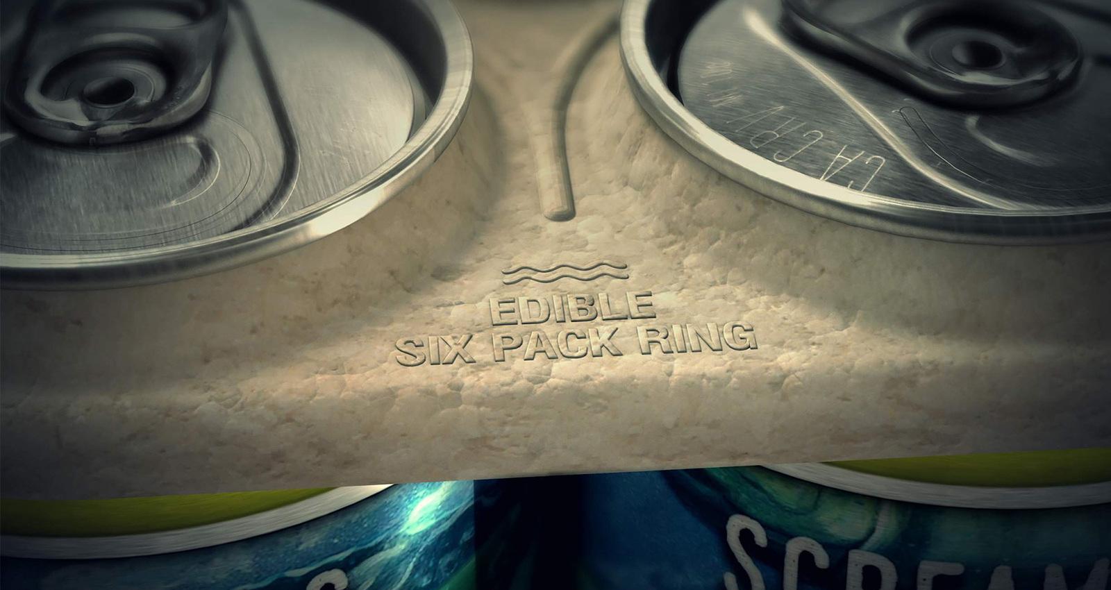 Edible Six Pack Rings