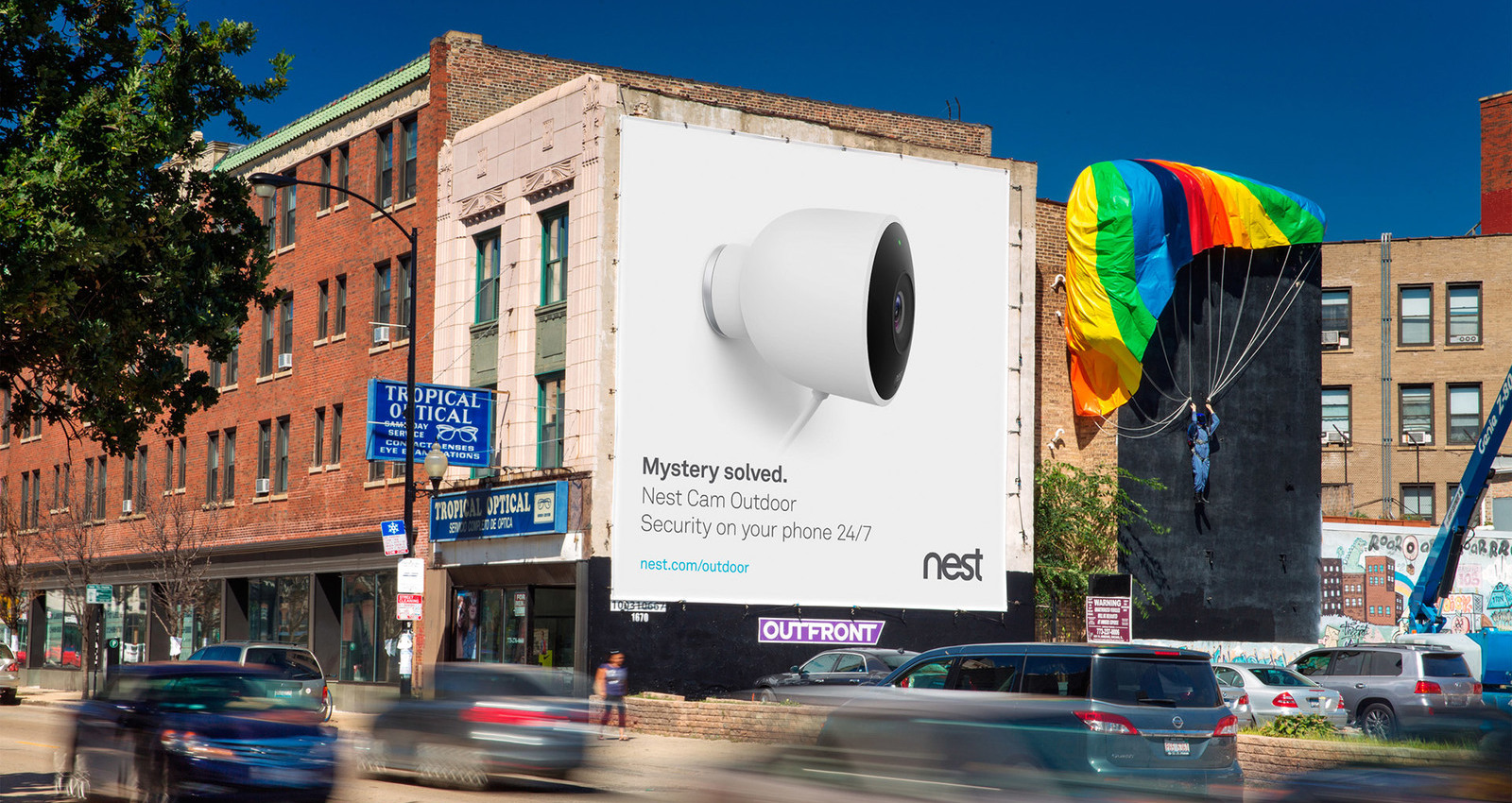 Nest, Integrated Outdoor Security Cam Campaign: Mystery Solved