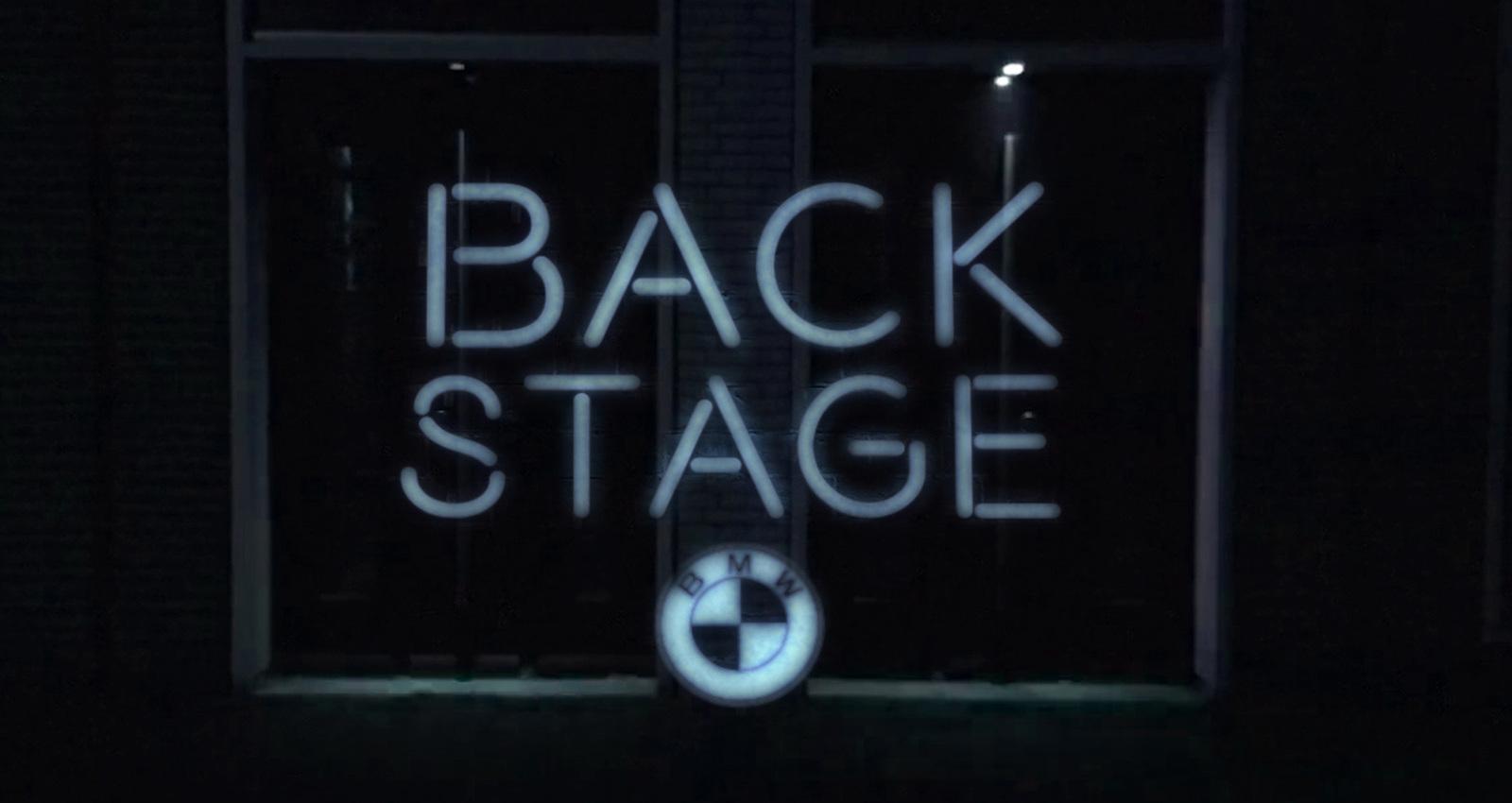 BMW Backstage