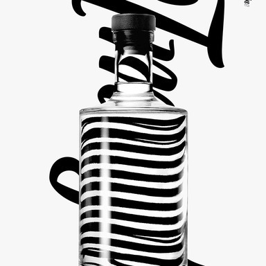 DesGin distorted typography poster campaign