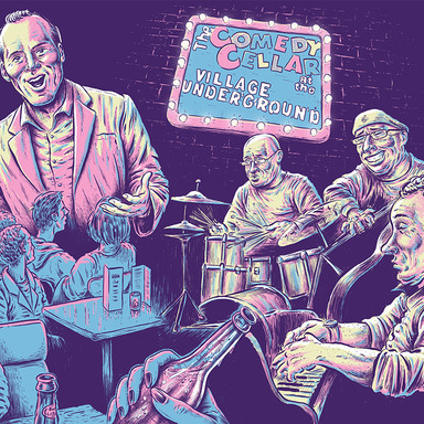 Killing For Laughs – An Illustrated Portrait of Stand-Up Comedy in New York City