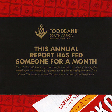 The annual report that feeds the hungry
