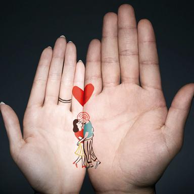 Hand meets Hand